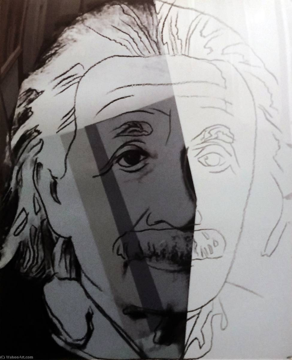 famous painting Albert Einstein of Andy Warhol