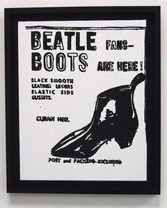 Andy Warhol - Beatle Boots