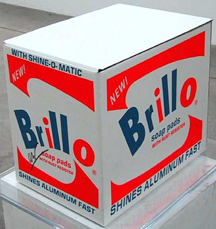famous painting Brillo-Box of Andy Warhol