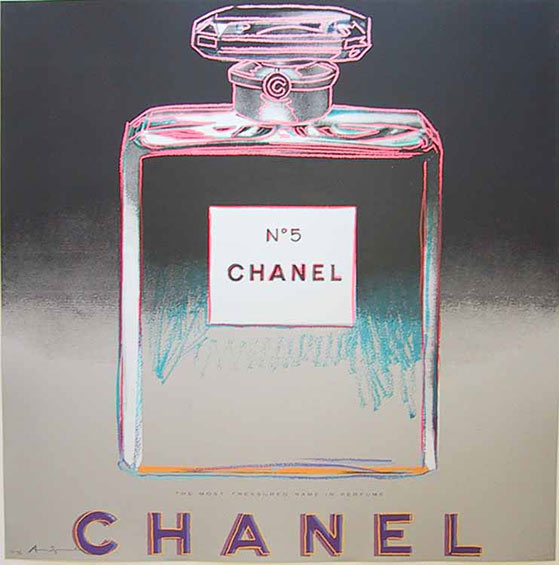 famous painting Chanel Tp of Andy Warhol