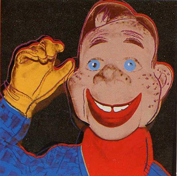 famous painting Howdy Doodie of Andy Warhol