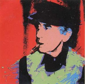 Andy Warhol - Man Ray