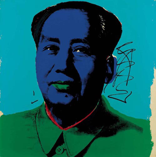 famous painting Mao (8) of Andy Warhol