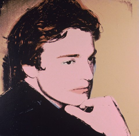 famous painting Portrait Of Jamie Wyeth of Andy Warhol