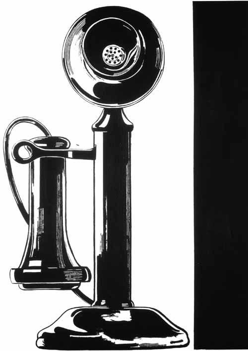 famous painting Telephone of Andy Warhol