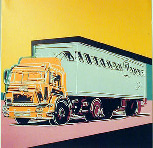 Andy Warhol - Truck Announcement