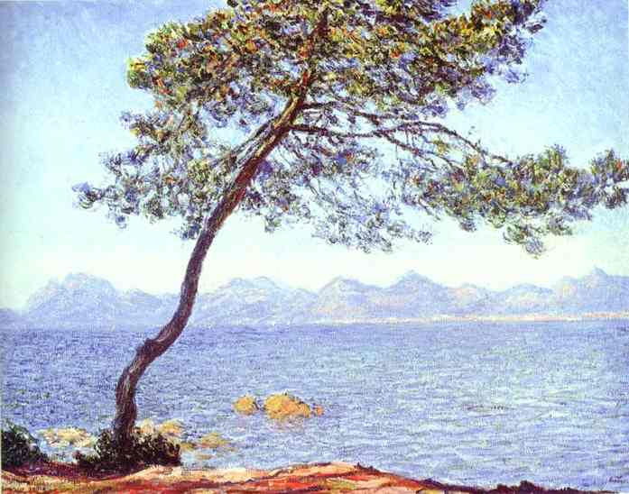 Order Paintings Reproductions Pop Art | Mountains at l'Esterel by Claude Monet | BuyPopArt.com