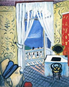 Henri Matisse - Interior with a Violin Case
