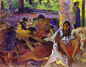 Paul Gauguin - The fisherwomen of Tahiti