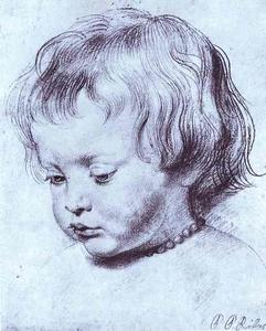 Peter Paul Rubens - Portrait of a Boy (Nicholas Rubens)