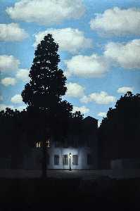 Rene Magritte - Empire Of Light