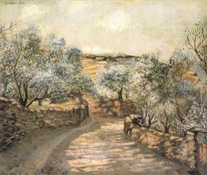 Salvador Dali - The Lane to Port Lligat with the View of Cape Creus, 1922-23