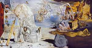 Salvador Dali - The Apotheosis of Homer, 1944-45