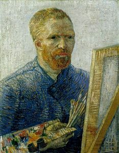 Vincent Van Gogh - Self-Portrait as an Artist [1887-88]
