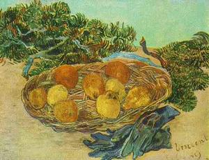 Vincent Van Gogh - Still Life with Oranges, Lemons and Blue Gloves