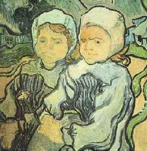 Vincent Van Gogh - Two Children 2