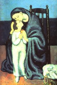 Pablo Picasso - Mother and Child (Maternity)