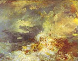 William Turner - Fire at Sea