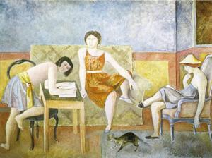 Balthus (Balthasar Klossowski) - The Three Sisters