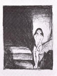 Edvard Munch - Evening (puberty)