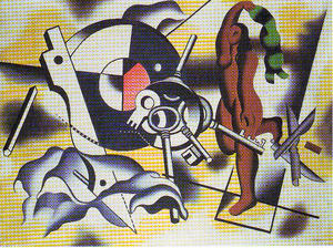 Fernand Leger - The dancer with the key