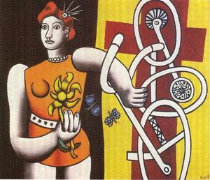 Fernand Leger - The great Julie