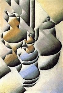 Juan Gris - Still Life with Oil Lamp