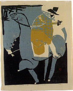 Roy Lichtenstein - The Cattle Rustler