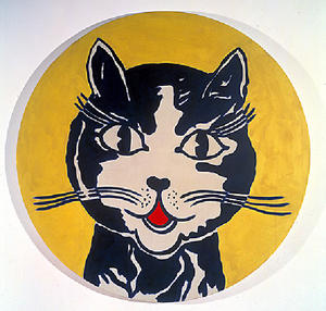 Roy Lichtenstein - Laughing cat