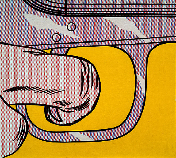 famous painting Trigger Finger of Roy Lichtenstein