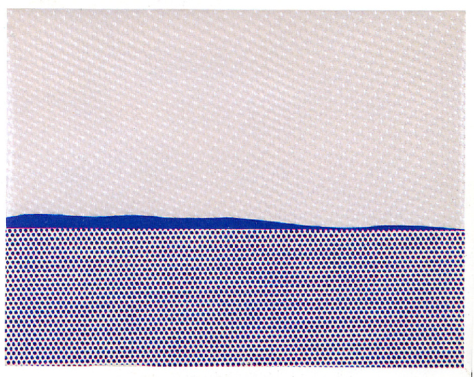 famous painting Seascape of Roy Lichtenstein