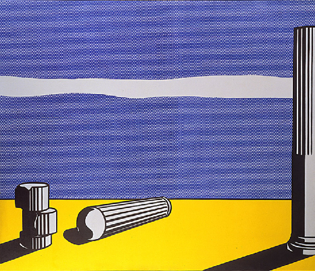 famous painting Ruins of Roy Lichtenstein