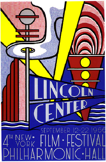 famous painting Filmposter of Roy Lichtenstein
