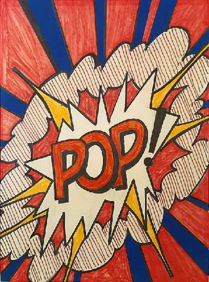 famous painting Pop of Roy Lichtenstein