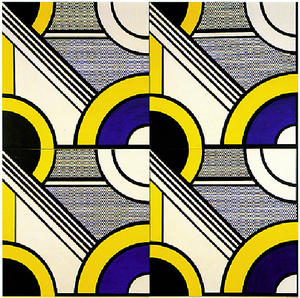 Roy Lichtenstein - Modular Painting with Four Panels #1