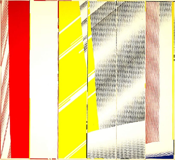 | Mirror in Six Panels by Roy Lichtenstein | BuyPopArt.com