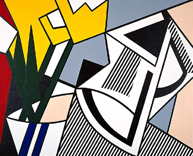 famous painting Abstract Still Life of Roy Lichtenstein
