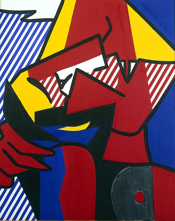 famous painting Despair of Roy Lichtenstein