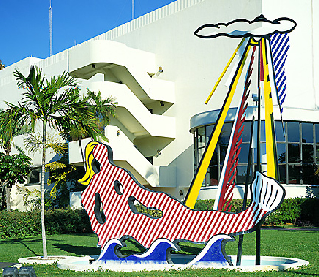 famous painting Mermaid of Roy Lichtenstein