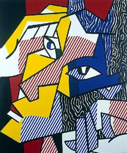Roy Lichtenstein - Expressionist Head 2