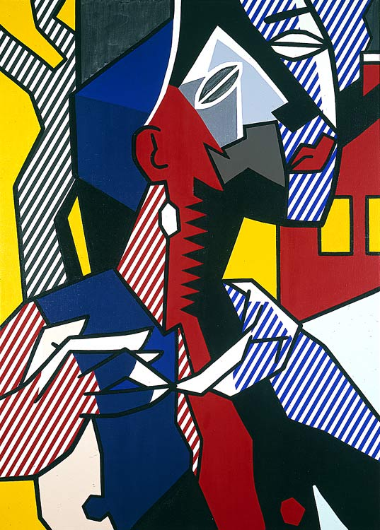 famous painting Female figure of Roy Lichtenstein