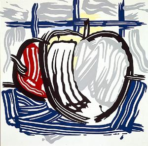 Roy Lichtenstein - 2 apples