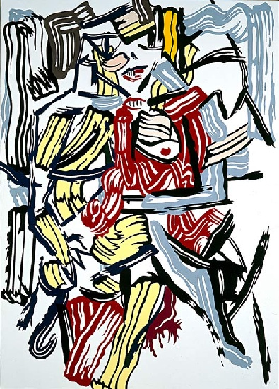 famous painting Woman of Roy Lichtenstein