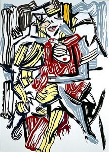 Roy Lichtenstein - Woman