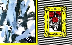 Roy Lichtenstein - Paintings with Roses