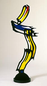 Roy Lichtenstein - Brushstrokes in flight