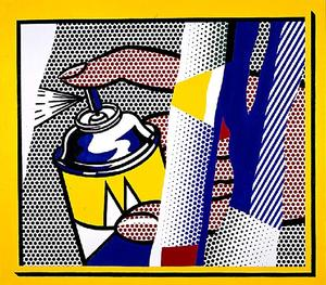 Roy Lichtenstein - Reflections Spray II