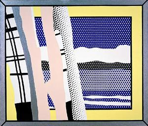 Roy Lichtenstein - Reflections Untitled (1988)