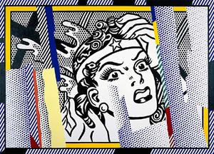 Roy Lichtenstein - Reflections Wonder Woman