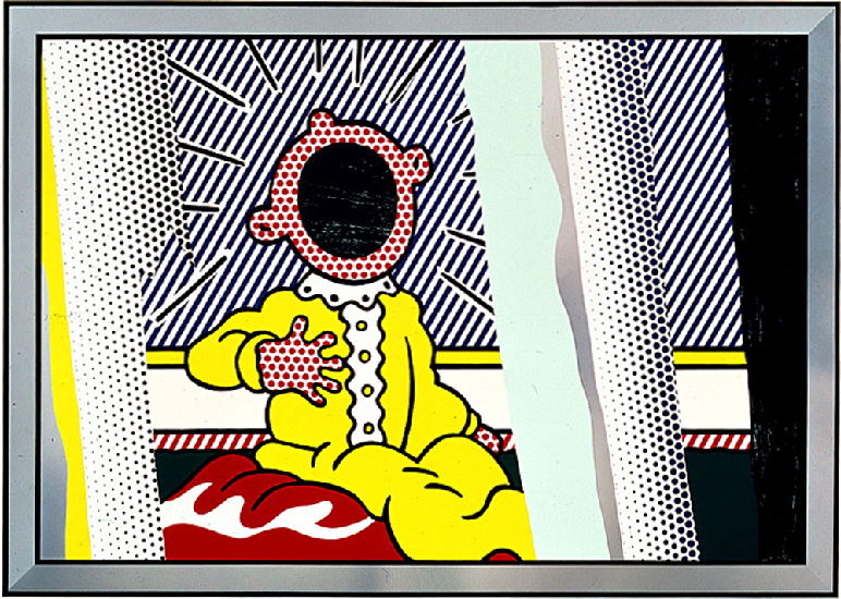 famous painting Reflections on The Scream of Roy Lichtenstein